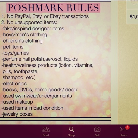 71c81cd3b959 All Accessories | Please Read Poshmark Rules | Poshmark