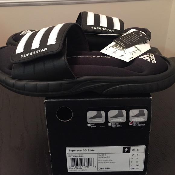 Adidas zapatos Venta Superstar 3G Slide talla 6 poshmark Unisex