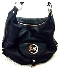  AUTHENTIC MK LEATHER BAG