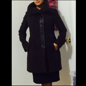 Cole Hann Coat- Dark Brown