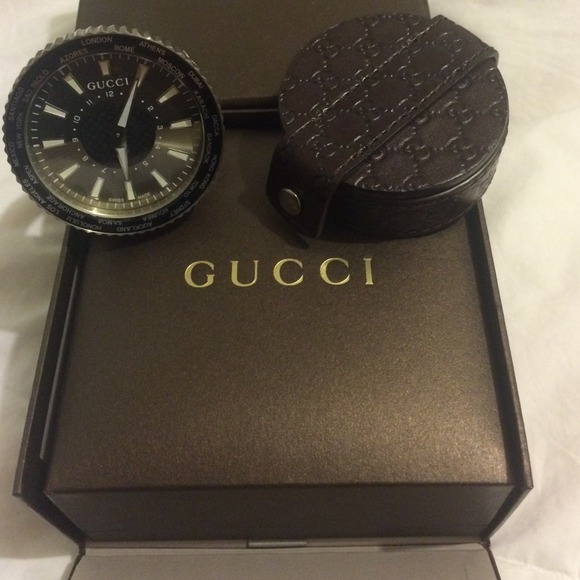 sports shoes 84334 138f4 Gucci Travel Alarm Clock