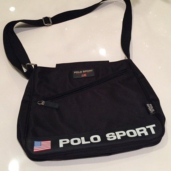 b441ea63fb7 Polo sport messenger bag. M 547d59f84a581e7fb330e657. Other Bags you may  like. Ralph Lauren Duffle Bag