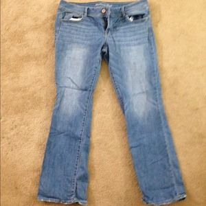 💢sold in bundle💢gently used American eagle jeans