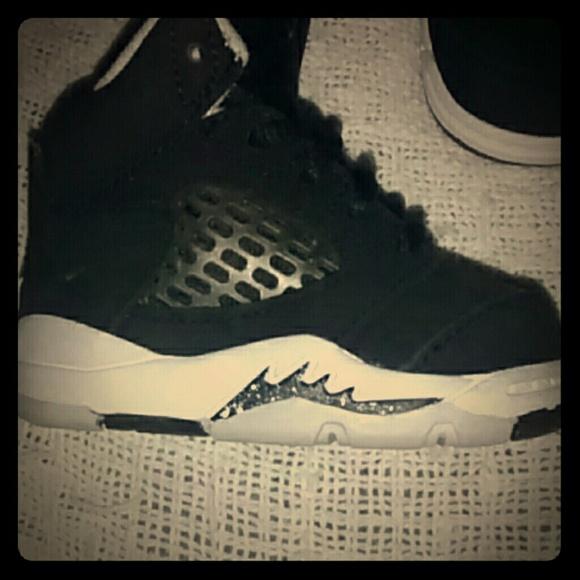 off Jordan Shoes Baby jordan shoes size 2c from