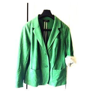 Talbots green blazer.