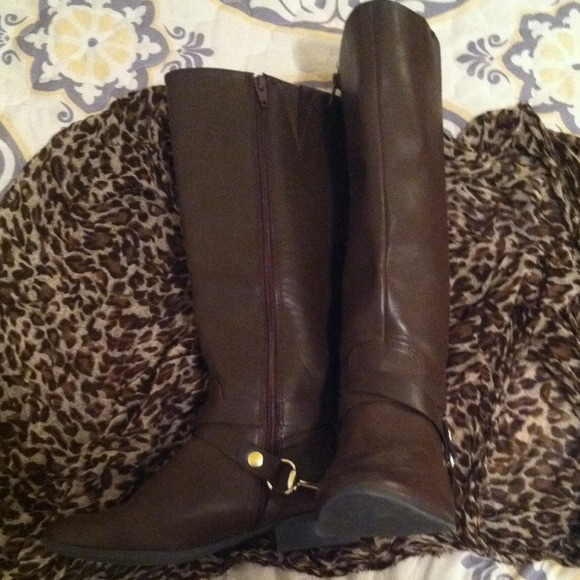 69% off Merona Boots - Brown Merona Riding Boots! from Ale's ...