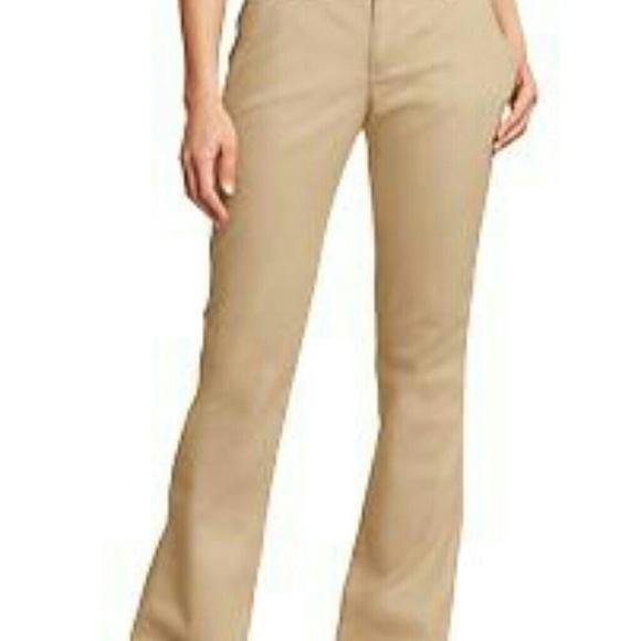 Lastest Womens Ladies Size 10 X 32 Navy Blue DOC Amp AMELIA Pleated Chino Khakis