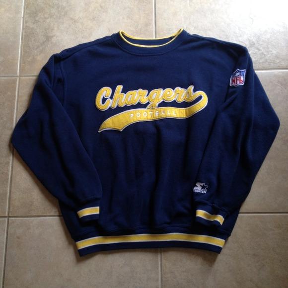 Vintage San Diego Chargers Starter Script Crewneck.  M 547e307d6afb68053802812a 4115ac64d