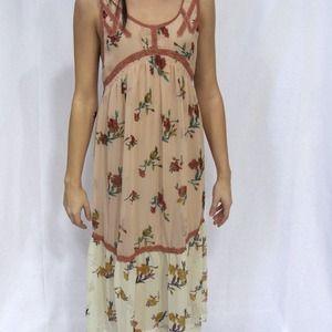 Free people floral printed dress