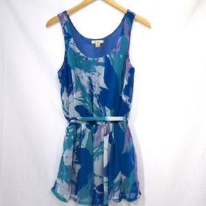 Forever 21 water color tunic