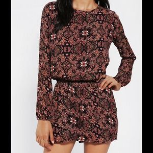 Lucca Couture Open Back Romper