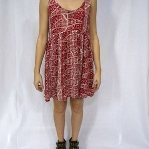 Urban outfitter'a brand Ecote printed dress