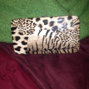 NWOT adorable cheetah print wallet