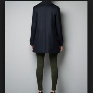 Zara Jackets & Coats - ZARA SHORT MILITARY COAT | SIZE M