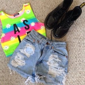 Tops - AS IF CROP TOP
