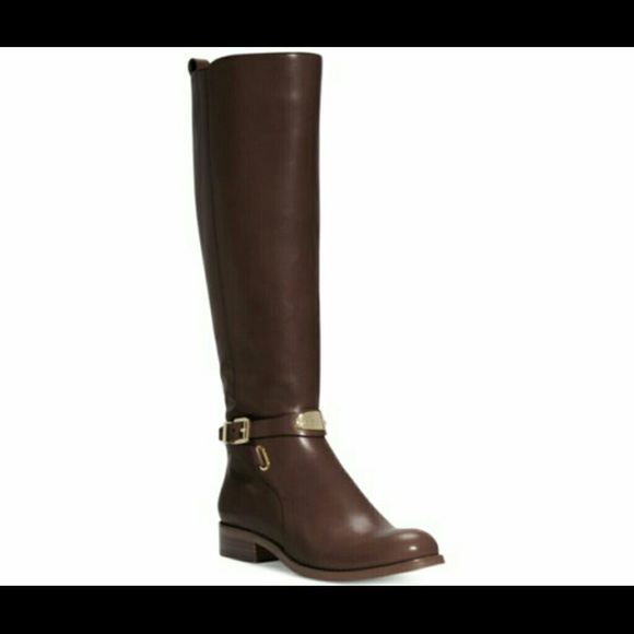 michael kors riding boots