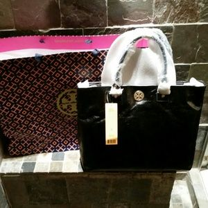 B NEW Tory Burch Large Leather bag 100% AUTHENTIC