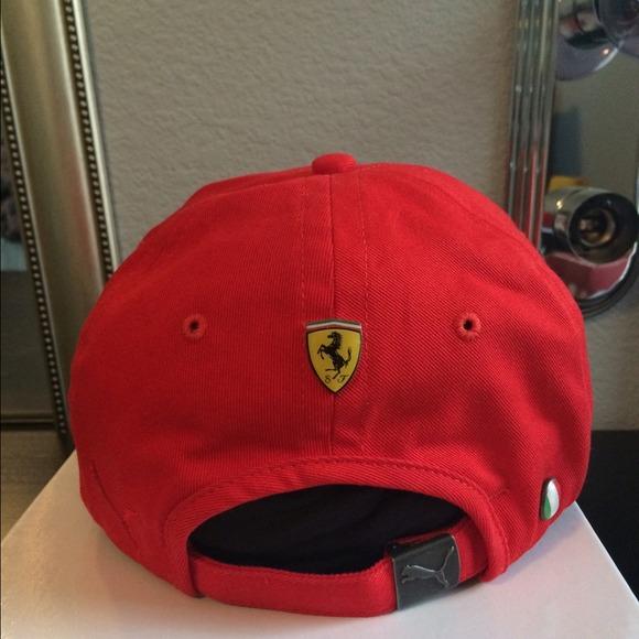 b4520a7f Puma Ferrari Limited Edition Baseball Cap / Hat. M_547f9c9017b8c24e0d01ead1