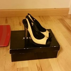 Shoes - Bamboo Slingbacks Bebe