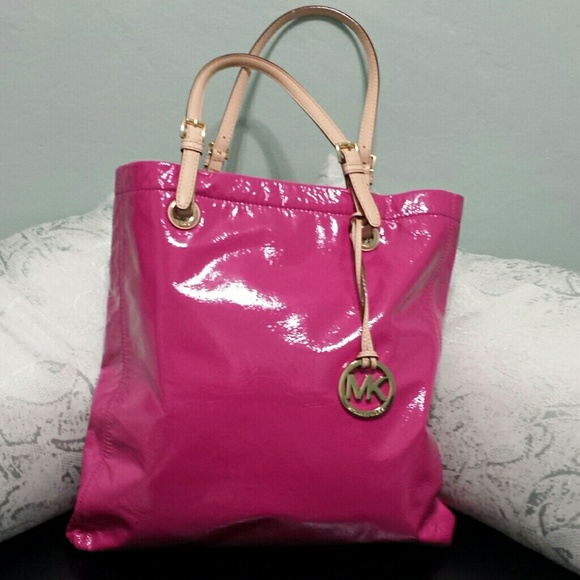 60% off MICHAEL Michael Kors Handbags - Michael Kors Hot Pink ...