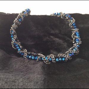 Ada Jewelry - Blue Iris Necklace