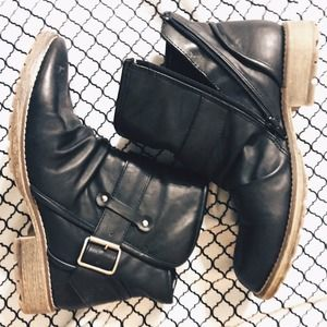 Dirty Laundry Moto Ankle Boots