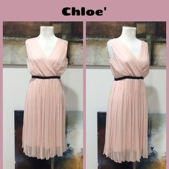 c005b4b507 Chloe' Silk Grecian Day Dress