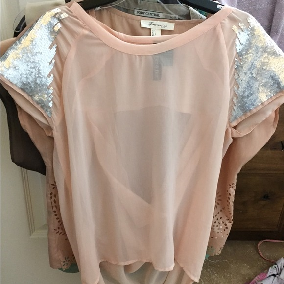 40% off Forever 21 Tops - Forever 21 blush pink shirt , back out ...