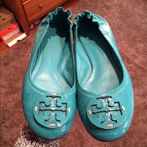 Teal Tory Burch Revas