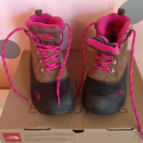 99962fe8c The North Face Girls' Chilkat Lace-Up Boots [Sz 1]