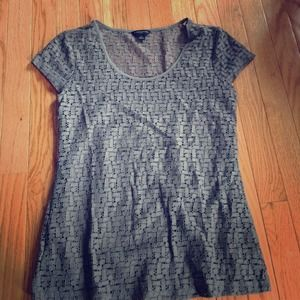 Banana republic top worn once w cami