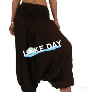 Pants - Black Aladdin pants