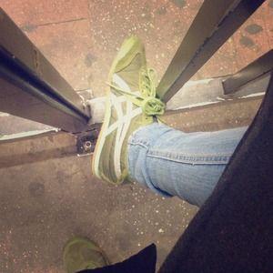 Used Hunter Green Sneaker