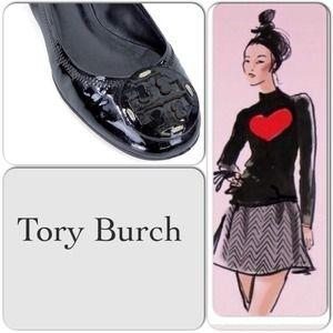 ❤️Host Pick Authentic Tory Burch Ballet Flats