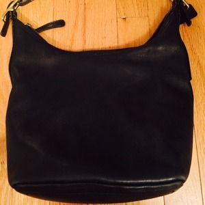 Authentic Coach Black Leather!