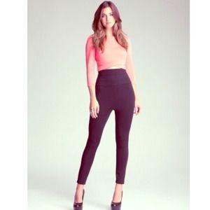 61% off bebe Pants - bebe High Waist Squba Legging from ...