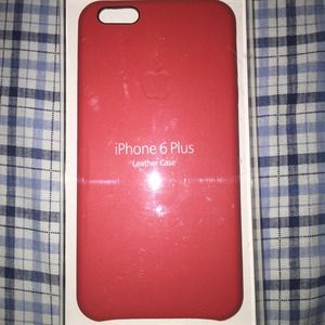 Accessories - iPhone 6 Plus Leather case