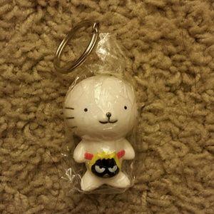 Sanrio Accessories - Hanamaru Sanrio Keychain - NWOT