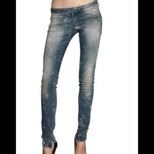 "Diesel ""Cherick"" medium wash slim jeans"