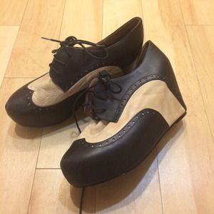 Jeffrey Campbell Oxford platforms