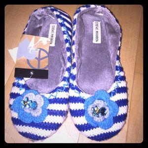 Steve Madden flower slippers 