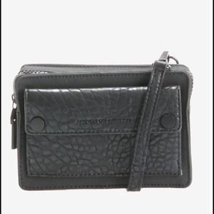 FRENCH CONNECTION MINI CROSS-BODY BAG in BLACK