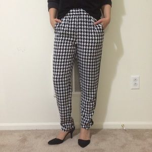 New Intermix Houndstooth pants
