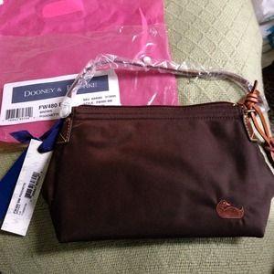 Brown Dooney & Bourke shoulder bag