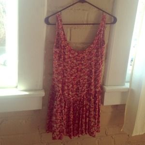 Open back Brandy Melville floral dress