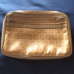 Vintage Fendi make up bag