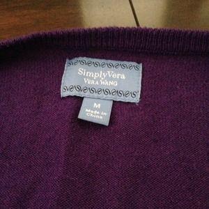 SOLD 💕 Vera wang purple sweater