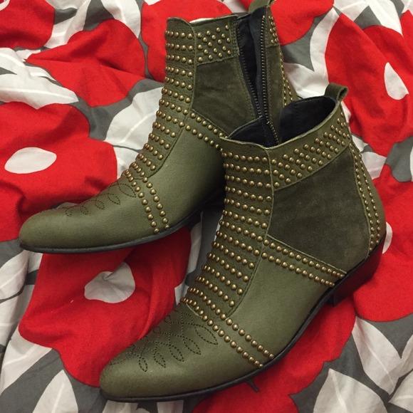 851da1da0927 Anine Bing Shoes | Studded Boots Size 36 Brand New | Poshmark