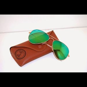 Ray Ban Aviator Green Mirror (ask via 🅿️🅿️)