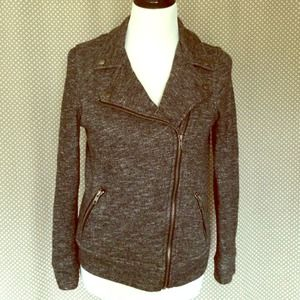 Forever 21 Jackets & Blazers - Terry Moto Jacket